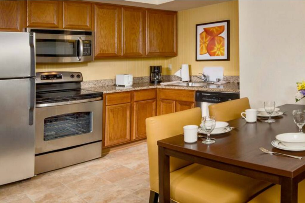 extended-stay hotels